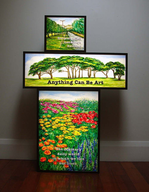 stacked Lightboxes